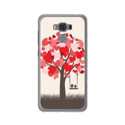 """Funda Gel Tpu para Asus Zenfone 3 Max 5.5"""" Zc553Kl Diseño Pajaritos Dibujos"""