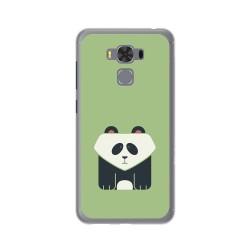 """Funda Gel Tpu para Asus Zenfone 3 Max 5.5"""" Zc553Kl Diseño Panda Dibujos"""