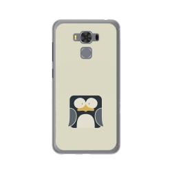 """Funda Gel Tpu para Asus Zenfone 3 Max 5.5"""" Zc553Kl Diseño Pingüino Dibujos"""