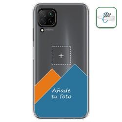 Personaliza tu Funda Pc + Tpu 360 con tu Fotografia para Huawei P40 Lite dibujo personalizada