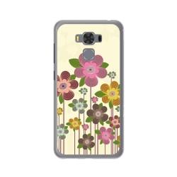 "Funda Gel Tpu para Asus Zenfone 3 Max 5.5"" Zc553Kl Diseño Primavera En Flor  Dibujos"