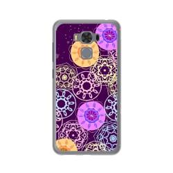 """Funda Gel Tpu para Asus Zenfone 3 Max 5.5"""" Zc553Kl Diseño Radial Dibujos"""