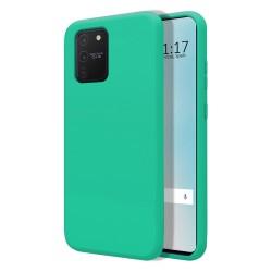 Funda Silicona Líquida Ultra Suave para Samsung Galaxy S10 Lite color Verde