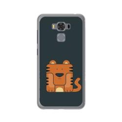 """Funda Gel Tpu para Asus Zenfone 3 Max 5.5"""" Zc553Kl Diseño Tigre Dibujos"""