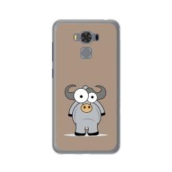 """Funda Gel Tpu para Asus Zenfone 3 Max 5.5"""" Zc553Kl Diseño Toro Dibujos"""