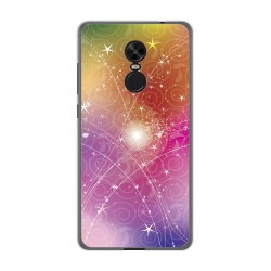 Funda Gel Tpu para Xiaomi Redmi Note 4X / Note 4 Version Global Diseño Abstracto Dibujos