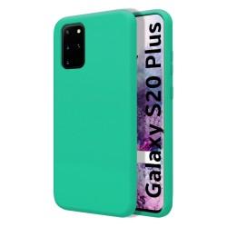 Funda Silicona Líquida Ultra Suave para Samsung Galaxy S20+ Plus color Verde