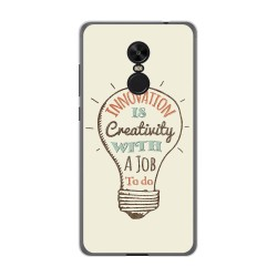 Funda Gel Tpu para Xiaomi Redmi Note 4X / Note 4 Version Global Diseño Creativity Dibujos