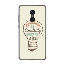 Funda Gel Tpu para Xiaomi Redmi Note 4X / Note 4 Version Global Diseño Creativity Dibujos