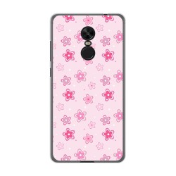 Funda Gel Tpu para Xiaomi Redmi Note 4X / Note 4 Version Global Diseño Flores Dibujos