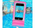 Funda Acuatica Impermeable Universal para Telefono color Rosa