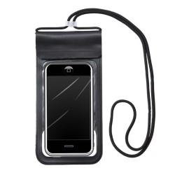 Funda Acuatica Impermeable Universal para Telefono color Negra