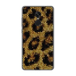Funda Gel Tpu para Xiaomi Redmi Note 4X / Note 4 Version Global Diseño Leopardo Dibujos