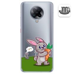 Funda Gel Transparente para Xiaomi POCO F2 Pro diseño Conejo Dibujos