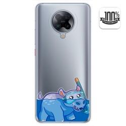 Funda Gel Transparente para Xiaomi POCO F2 Pro diseño Hipo Dibujos