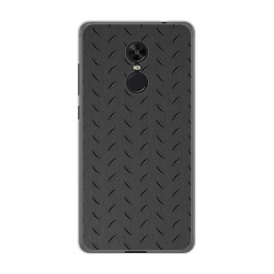Funda Gel Tpu para Xiaomi Redmi Note 4X / Note 4 Version Global Diseño Metal Dibujos