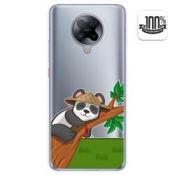 Funda Gel Transparente para Xiaomi POCO F2 Pro diseño Panda Dibujos