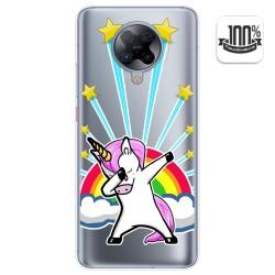 Funda Gel Transparente para Xiaomi POCO F2 Pro diseño Unicornio Dibujos