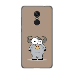 Funda Gel Tpu para Xiaomi Redmi Note 4X / Note 4 Version Global Diseño Toro Dibujos