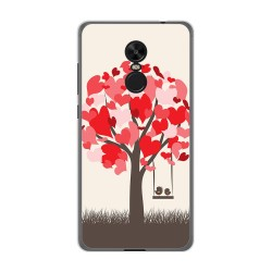 Funda Gel Tpu para Xiaomi Redmi Note 4X / Note 4 Version Global Diseño Pajaritos Dibujos