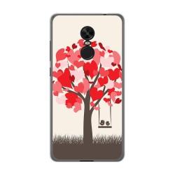 Funda Gel Tpu para Xiaomi Redmi Note 4X / Note 4 Version Global Diseño Pajaritos Dibujos