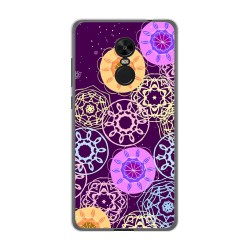 Funda Gel Tpu para Xiaomi Redmi Note 4X / Note 4 Version Global Diseño Radial Dibujos