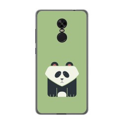 Funda Gel Tpu para Xiaomi Redmi Note 4X / Note 4 Version Global Diseño Panda Dibujos