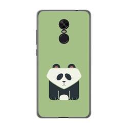 Funda Gel Tpu para Xiaomi Redmi Note 4X / Note 4 Version Global Diseño Panda Dibujos