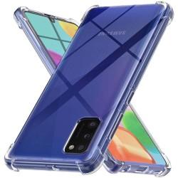 Funda Gel Tpu Anti-Shock Transparente para Samsung Galaxy A41