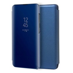 Funda Flip Cover Clear View para Xiaomi Mi 10 / Mi 10 Pro color Azul