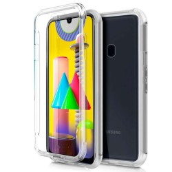 Funda Completa Transparente Pc + Tpu Full Body 360 para Samsung Galaxy M31