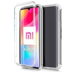 Funda Completa Transparente Pc + Tpu Full Body 360 para Xiaomi Mi Note 10 Lite