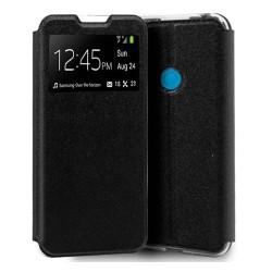 Funda Libro Soporte con Ventana para Samsung Galaxy M31 color Negra