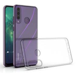Funda Silicona Gel TPU Transparente para Huawei Y6p