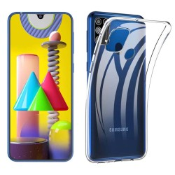 Funda Silicona Gel TPU Transparente para Samsung Galaxy M31