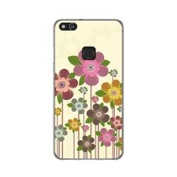 Funda Gel Tpu para Huawei P10 Lite Diseño Primavera En Flor Dibujos