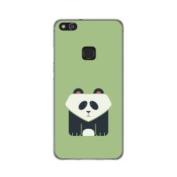 Funda Gel Tpu para Huawei P10 Lite Diseño Panda Dibujos
