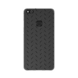 Funda Gel Tpu para Huawei P10 Lite Diseño Metal Dibujos