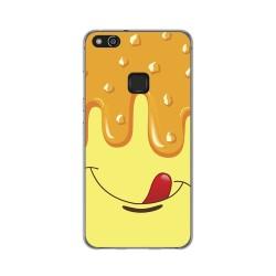 Funda Gel Tpu para Huawei P10 Lite Diseño Helado Vainilla Dibujos