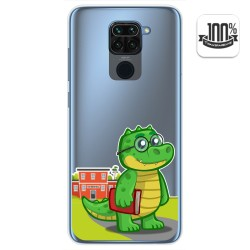 Funda Gel Transparente para Xiaomi Redmi Note 9 diseño Coco Dibujos