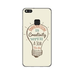Funda Gel Tpu para Huawei P10 Lite Diseño Creativity Dibujos