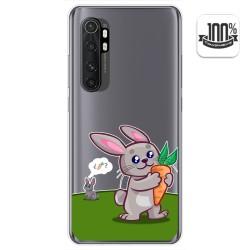 Funda Gel Transparente para Xiaomi Mi Note 10 Lite diseño Conejo Dibujos