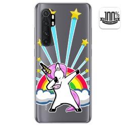 Funda Gel Transparente para Xiaomi Mi Note 10 Lite diseño Unicornio Dibujos