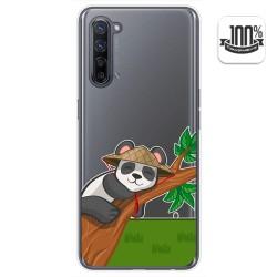Funda Gel Transparente para Oppo Find X2 Lite diseño Panda Dibujos