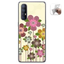 Funda Gel Tpu para Oppo Find X2 Neo diseño Primavera En Flor Dibujos