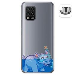 Funda Gel Transparente para Xiaomi Mi 10 Lite diseño Hipo Dibujos