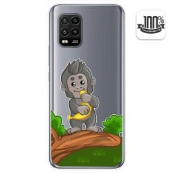Funda Gel Transparente para Xiaomi Mi 10 Lite diseño Mono Dibujos