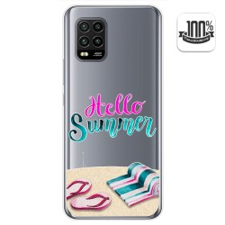 Funda Gel Transparente para Xiaomi Mi 10 Lite diseño Summer Dibujos