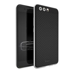 Funda Tipo Neo Hybrid (Pc+Tpu) Negra / Plata para Huawei P10 Plus
