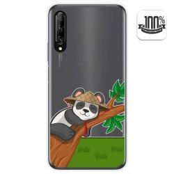 Funda Gel Transparente para Huawei P Smart Pro diseño Panda Dibujos